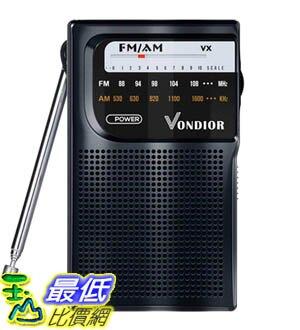[9美國直購] AM FM Radio Portable 收音機 Best Reception Transistor Radio/Longest Lasting Battery Operated Ra
