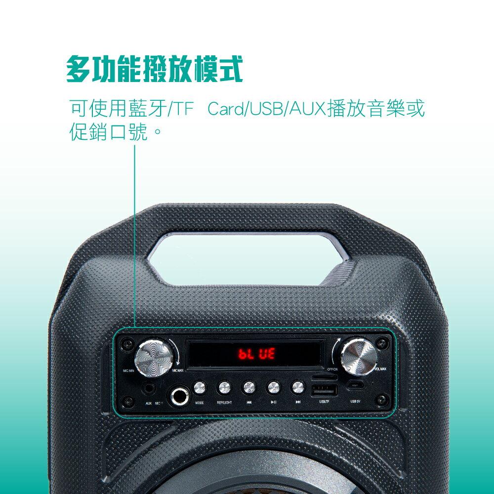 PO SHOPღ【TCSTAR】重低音戶外手提式藍牙喇叭 TCS1510
