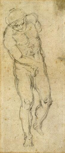 Michelangelo Male Nude Nblack Chalk Sketch By Michelangelo C1560 Poster Print by (18 x 24) 2bfb1e28d385e6b5dd0605e378ce3b6b
