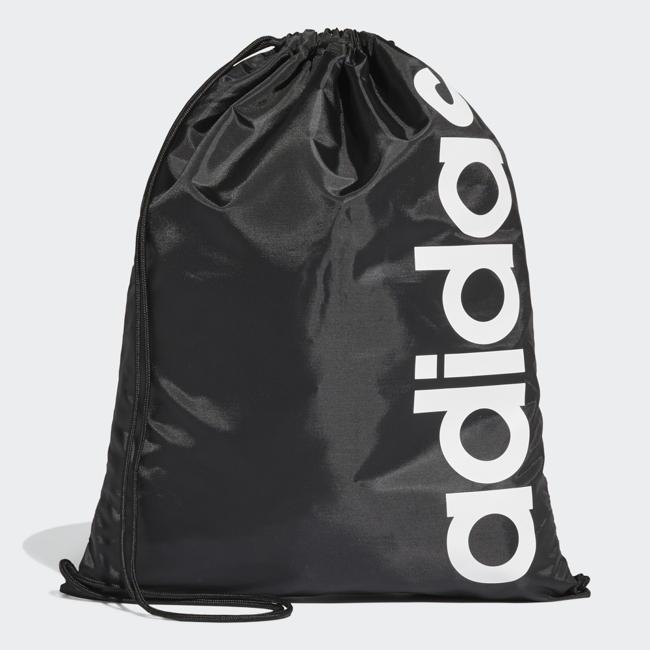 ADIDAS LINEAR CORE GYM BAG 後背包 束口袋 休閒 健身 黑 【 世界】DT5714