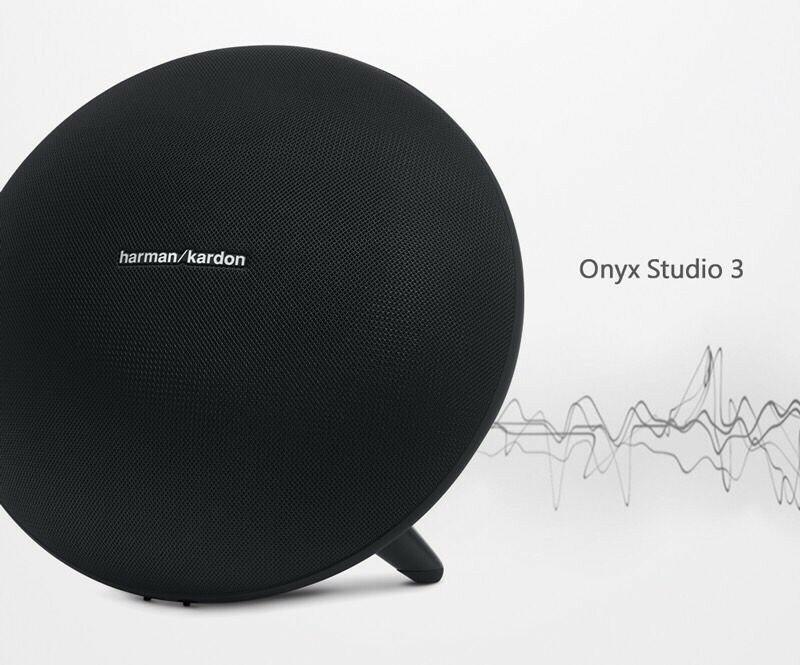 歡迎議價/英大公司貨『 Harman Kardon Onyx Studio 3 黑色 』藍芽音響/藍牙喇叭/無線串流/可充電電池/內建麥克風系統/另售水母3代