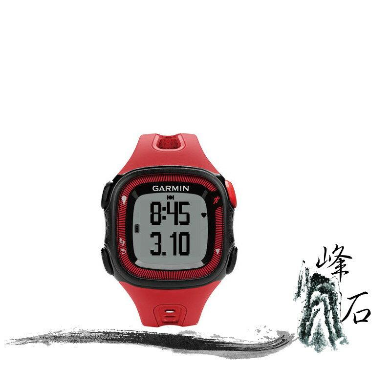 樂天限時優惠!GARMIN Forerunner® 15 Forerunner® 15 三合一運動健身跑錶 紅黑
