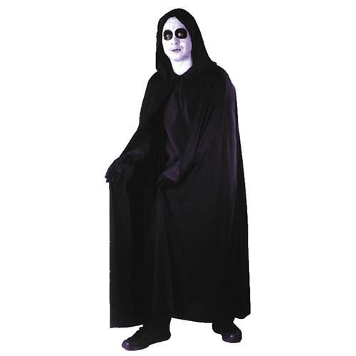 Hooded Cape Adult Costume - Black 0