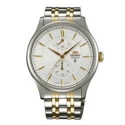 ORIENT 東方錶 CLASSIC系列 (SFM02001W) 40小時動力鋼帶款 白色  42mm