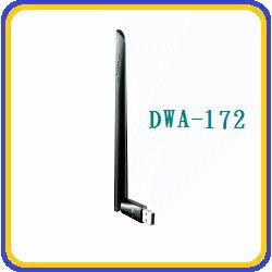 2016.11新品 限時優惠!D-Link DWA-172  Wireless AC600雙頻USB 無線網路卡