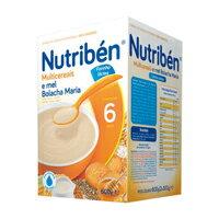【安琪兒】西班牙【Nutriben 貝康】多種穀類餅乾奶麥精