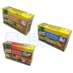泰國 康寶 酸辣蝦湯塊 豬湯塊  雞湯塊 20克
