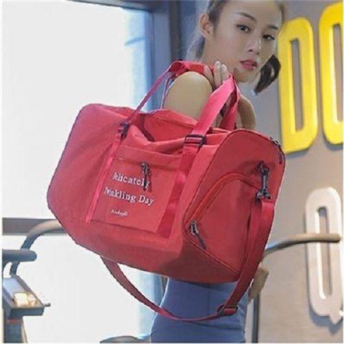 【超取399免運】多功能健身包 (小號41X22X21.5cm) 單肩旅行袋 旅行包 防水手提包 行李袋