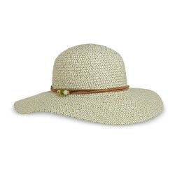 《台南悠活運動家》SUNDAY 女抗UV防曬輕量編織帽 玻璃海 SAS2C86496C-568-07