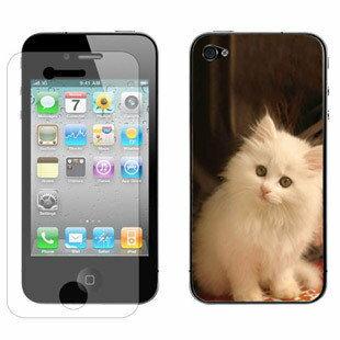 美麗大街【BF396328】蘋果iPhone四代手機保護貼膜