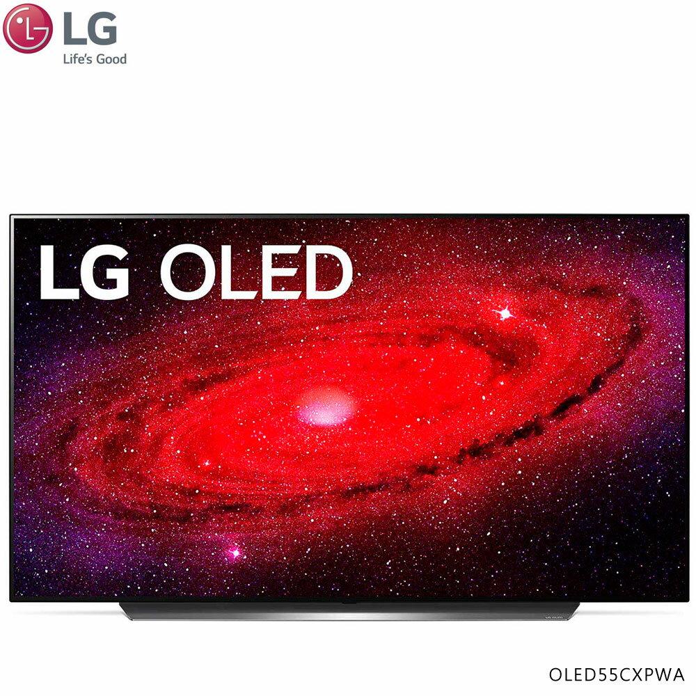【送Oster 經典早餐組】LG 樂金OLED55CXPWA 電視 55吋 OLED 4K AI語音物聯網電視