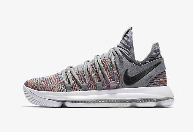 "Nike KD 10 ""Multi-Color"" 彩虹出貨 男款"