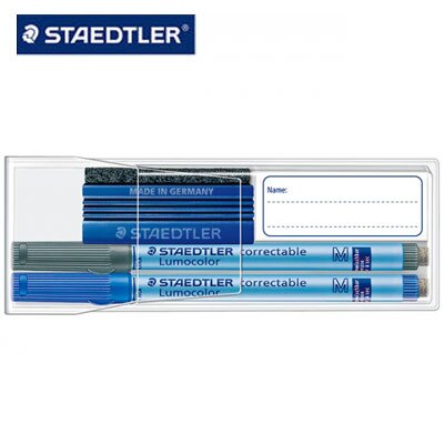 施德樓 MS305F WP2 可擦拭萬用筆附板擦組 F /組