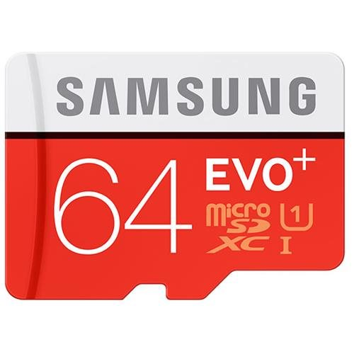 Samsung EVO+ 64GB microSDXC Class 10 64G EVO Plus microSD micro SD SDXC 80MB/s UHS-I U1 C10 MB-MC64DA with Original SD Adapter 0