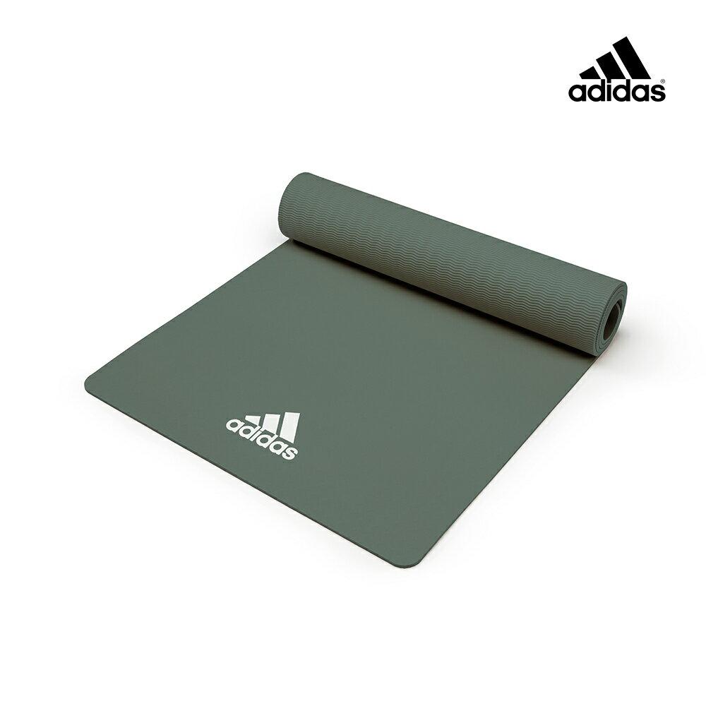 【Adidas愛迪達】輕量波紋瑜珈墊-8mm(共兩色) 2