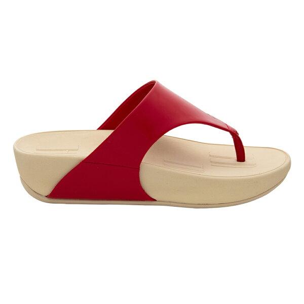 MMHH鏡面牛皮三密度涼鞋