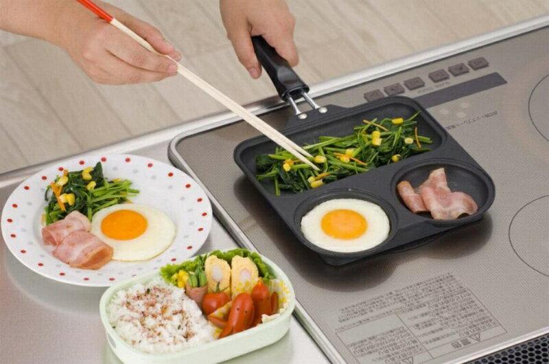日本製 杉山金屬 三格青蛙平底鍋 IH/瓦斯爐/電磁爐適用 *夏日微風*