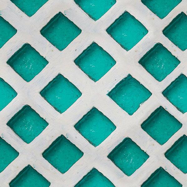 Mind the Gap / Turquoise patch WP20056 壁紙「訂貨單位156cm x 3m/套(1套3張壁板)」藍綠色 仿真