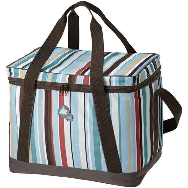 LOGOS 日本 | 條紋軟式保冷袋-M(25L) | 秀山莊(LG81670710)