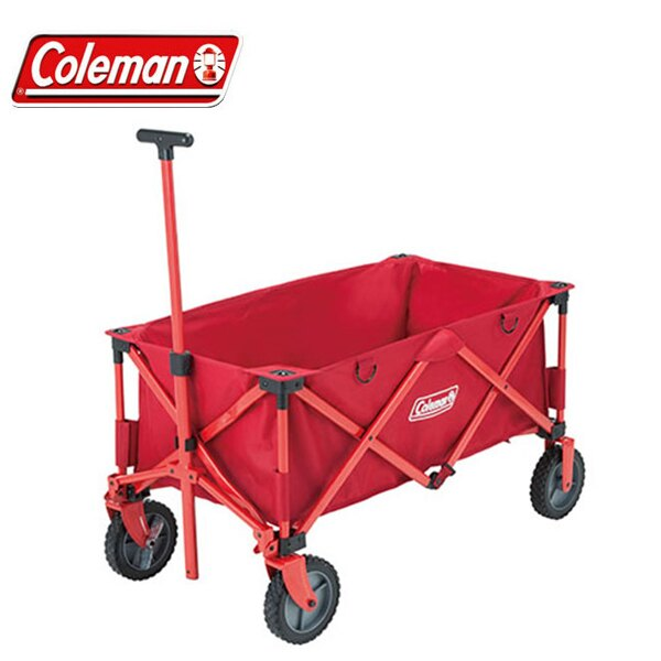Coleman/OUTDOOR WAGON 露營收納拖車CM-21989/2000021989。1色。日本必買 免運/代購(11860*12.3)
