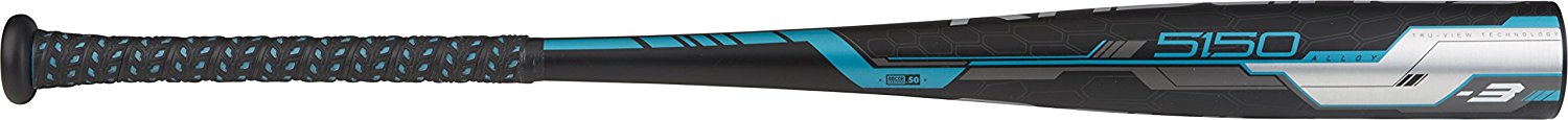 Rawlings 5150 Alloy BBCOR (High School/Collegiate) Baseball Bat, 2-5/8-Inch Big Barrel, 33-Inch Length, -3 Drop Weight, 30 Ounces 0