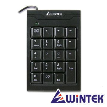 {光華成功NO.1}WiNTEK 文鎧 TK70 USB超薄19KEY數字鍵盤 喔!看呢來