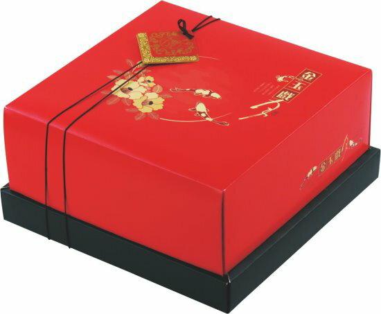 宜勤包裝股份有限公司:[紅標基本量]金玉戲月/雙層盒9入100個