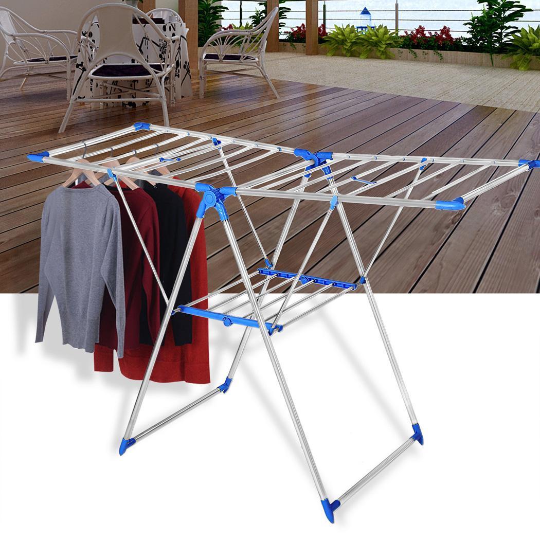 Portable Folding Clothes Rack Laundry Hanger Dryer 4