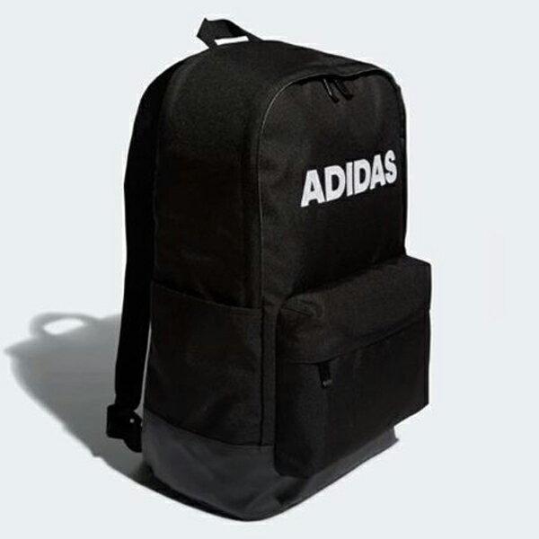 【領券最高折$400】Adidas CL BOS 背包 後背包 休閒 大文字 黑 【運動世界】 DW4268