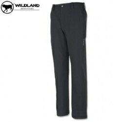 [ WILDLAND 荒野 ] 男-彈性保暖長褲 / 刷毛褲  /  0A02306