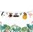 熱帶雨林動物串旗 小朋友慶生活動 派對串旗 節慶聚會用品 房間佈置 宿舍裝飾 同樂會裝飾【Bonne Boutique幸福雜貨】 0