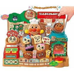 【真愛日本】18122200008 麵包工場豪華版DX-ANP 麵包超人 麵包 工廠 店 發聲 聲光 音效 玩具 烤箱 烤爐