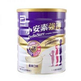 亞培 小安素強護Complete均衡營養配方(1600g/罐)-減糖配方 1299元(超商取件限3罐)