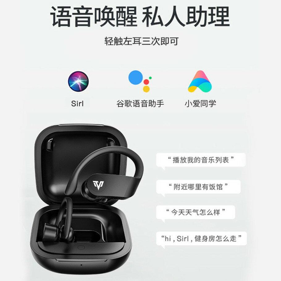 Lesste 藍牙耳機 商務耳機 無線耳機 TWS 藍牙5.0 掛耳式 開車 運動 帶充電倉