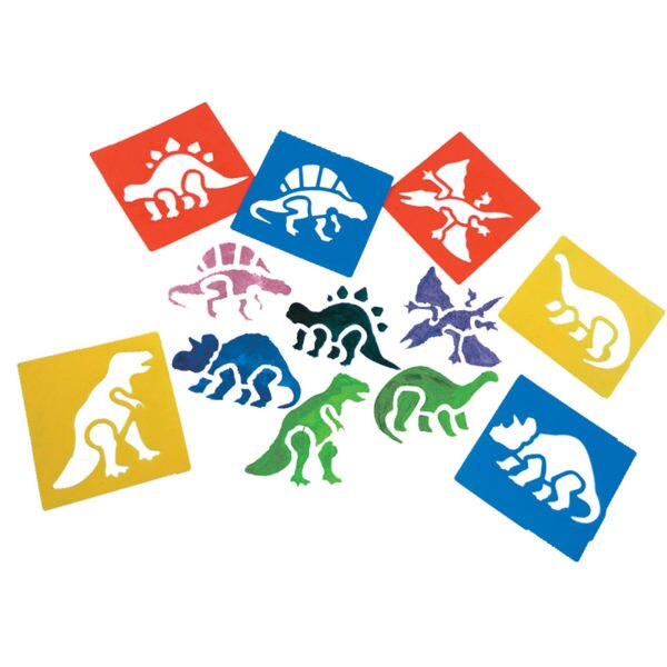 【華森葳兒童教玩具】美育教具系列-模型畫板-恐龍 L1-AP/038/WSD