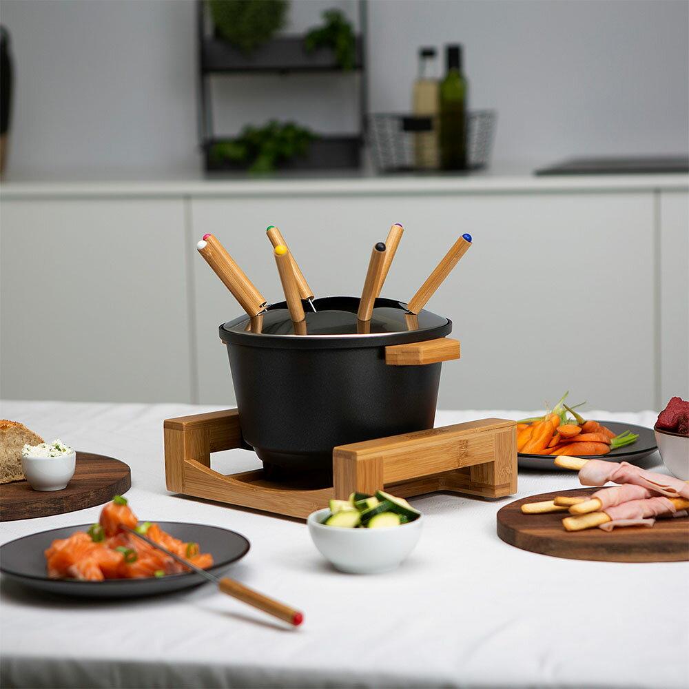【PRINCESS】荷蘭公主 陶瓷料理鍋 / 黑 173026 (加贈油炸籃.調味罐.計時器) 9