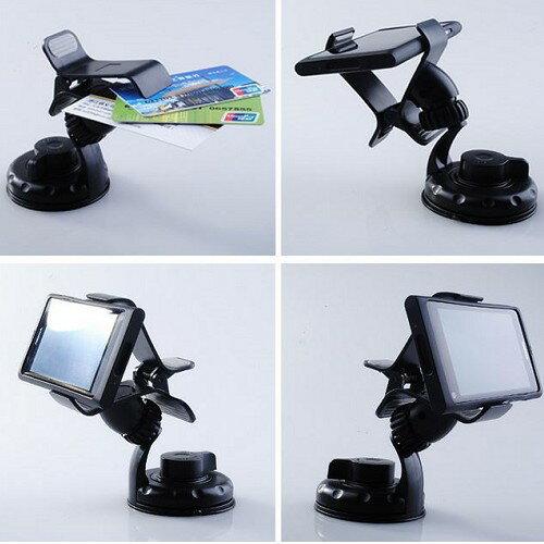 A0177 手機吸盤架 導航架 車架 GPS 固定夾 sony iphone htc 辦公室 機車手機架 沂軒精品