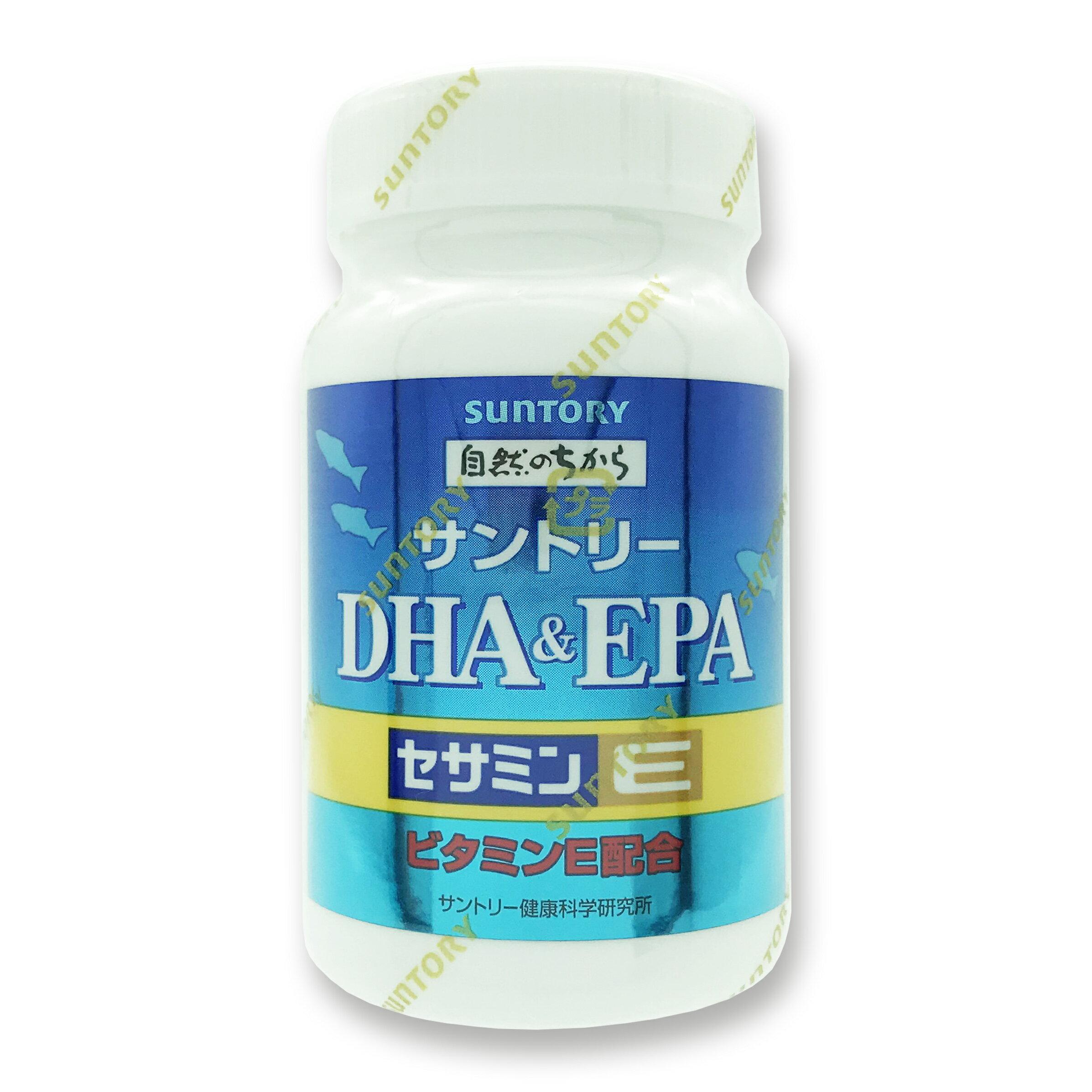 正品有防偽 Suntory三得利 魚油 DHA&EPA+芝麻明E【優.日常】