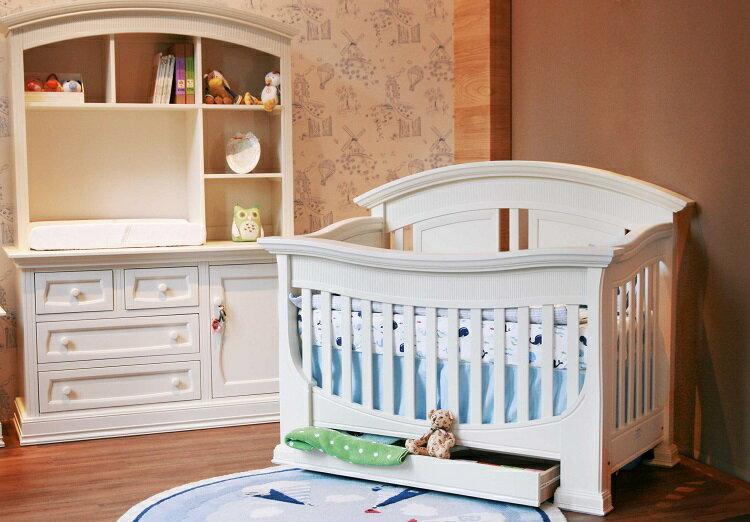 LEVANA【四合一系列】亨利王子 成長嬰兒床 -3色(白-4月中到) 1