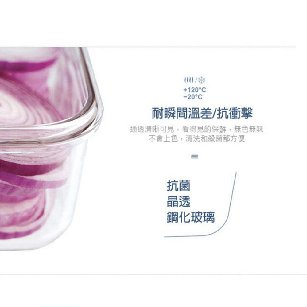 Glasslock 附提把手提強化玻璃保鮮盒- 2500ml/韓國製造/可微波/野餐手提款/耐瞬間溫差120度/減塑餐盒 2