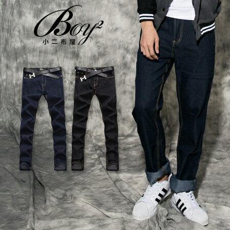 ☆BOY-2☆【PPK85021】牛仔褲韓式街頭素面單寧褲 0
