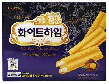 ~韓新館~CROWN 크라운 奶油口味脆餅 ^(缺貨中^)