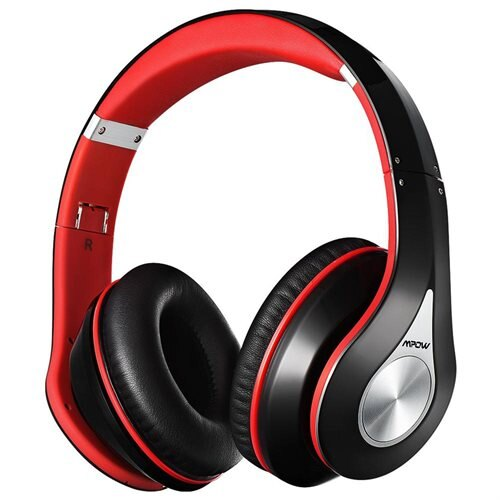 Mpow On-Ear Bluetooth Headphones with Noise Cancelling Stereo,Foldable Built-in Mic,Soft Earmuffs 0