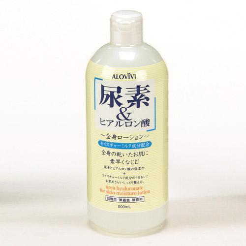【百倉日本舖】日本製 ALOVIVI 尿素和玻尿酸保濕身體乳液