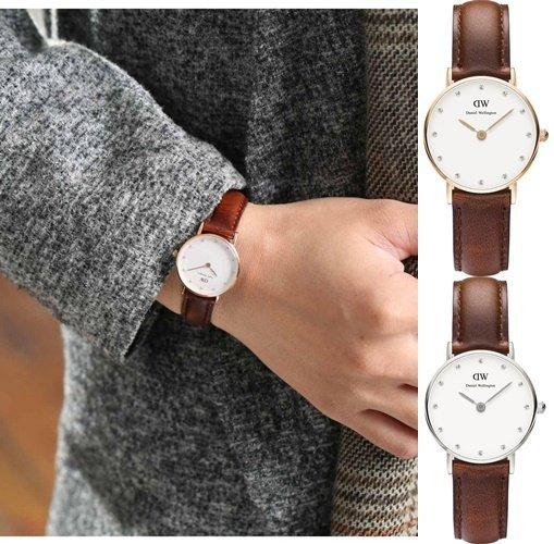【Cadiz】瑞典正品 DW手錶 Daniel Wellington 0900DW 玫瑰金 0920DW 銀 26mm - 限時優惠好康折扣