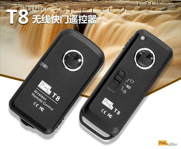 ◎相機專家◎免運費PIXEL品色T8DC0無線快門遙控器RW-221可參考NikonD700D800公司貨