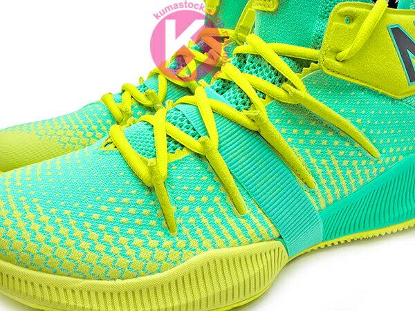 2019 最新 NBA 總冠軍 Kawhi Leonard 強力代言 NEW BALANCE OMN1S 綠黃 全腳掌的 FUELCELL 緩震科技 MVP 籃球鞋 紐巴倫 小可愛 (BBOMNXSN) 1219NBA 2