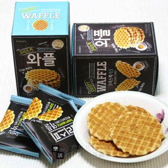 【限量10盒】下殺↘$50.00 (原價$100.00)韓國 Crown酥脆焦糖鬆餅 108g 下午茶 餅乾 樂活生活館