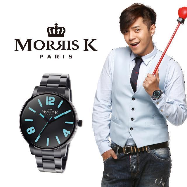 【Morris K】羅志祥代言 擁你入懷 玩色個性潮流 粉潤黃-MK11095-LB21 女錶