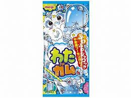 有樂町進口食品 日本明治棉花口香糖-蘇打口味 棉花糖 &口香糖 J22 4902777225050